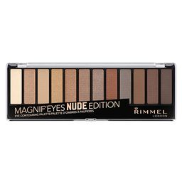 Rimmel Magnif'eyes Eyeshadow Palette, 001 Nude Edition, Pack of 1 | Amazon (US)