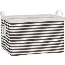 Sea Team Collapsible Canvas Fabric Storage Basket with Handles, Rectangle Waterproof Storage Bin,... | Amazon (US)