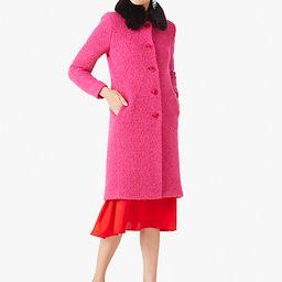 wool-blend bouclé broadway coat | Kate Spade (US)