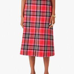 foliage plaid skirt | Kate Spade (US)