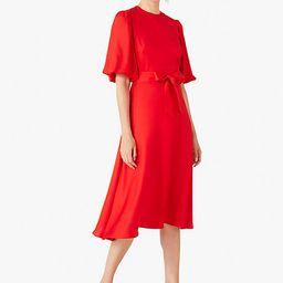silk twill matinee dress | Kate Spade (US)