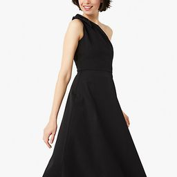 twill one-shoulder dress | Kate Spade (US)
