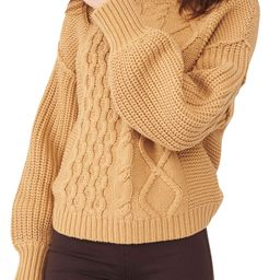 Dream Cable Crewneck Sweater   Nordstrom   Nordstrom