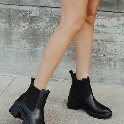 Waylen Black Ankle Boots | Lulus (US)
