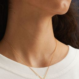 Gold-plated pendant necklace | H&M (UK, IE, MY, IN, SG, PH, TW, HK, KR)
