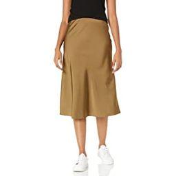 The Drop Women's Maya Silky Slip Skirt   Amazon (UK)