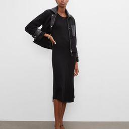 Cropped Wool & Leather Combo Jacket | Club Monaco (Global)