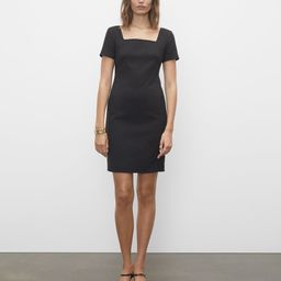 Fitted Square Neck Dress | Club Monaco (Global)