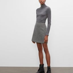 Centie Houndstooth Mini Skirt | Club Monaco (Global)
