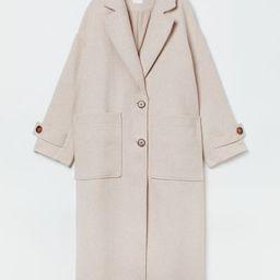 Oversized coat | H&M (UK, IE, MY, IN, SG, PH, TW, HK, KR)