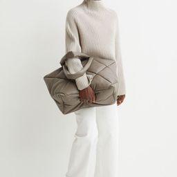 Rib-knit turtleneck jumper | H&M (UK, IE, MY, IN, SG, PH, TW, HK, KR)