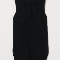 Ribbed sweater vest | H&M (UK, IE, MY, IN, SG, PH, TW, HK, KR)