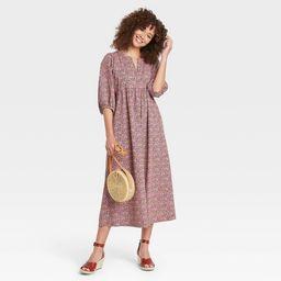Women's Balloon Long Sleeve Dress - Universal Thread™ | Target