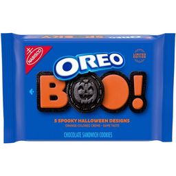 Oreo Halloween Orange Colored Creme Chocolate Sandwich Cookies - Family Size - 20oz   Target
