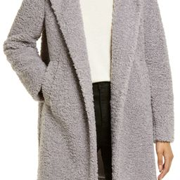 Hooded Faux Shearling Teddy Coat | Nordstrom | Nordstrom