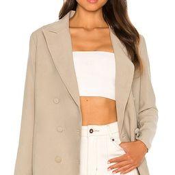 Hills Blazer in Olive | Revolve Clothing (Global)