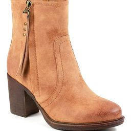 Reneeze Women's Casual boots CAMEL - Camel Riko Bootie - Women | Zulily