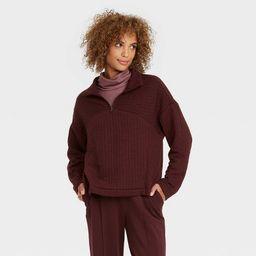 Women's Quarter Zip Sweatshirt - A New Day™ | Target