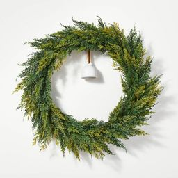 Spruce Wreath with Bell - Threshold™ designed with Studio McGee   Target