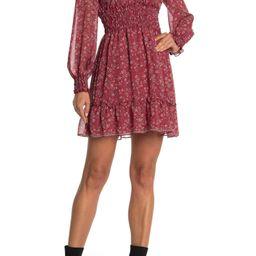 V-Neck Smocked Dress | Nordstrom Rack