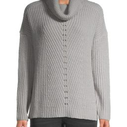 Time and Tru Women's Textured Cowl Neck Sweater | Walmart (US)