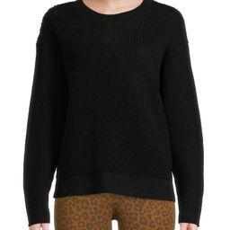 Time and Tru Women's Intarsia Teddy Sweater | Walmart (US)