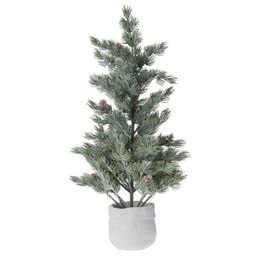 """Holiday Time Artificial Spruce Tree Table Top Decoration, 24"""" - Walmart.com 