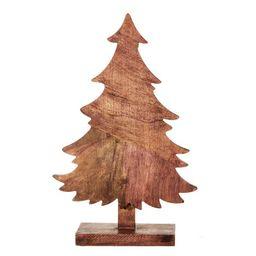 "Holiday Time Mango Wood Tree Tabletop Decoration, 18"" - Walmart.com | Walmart (US)"