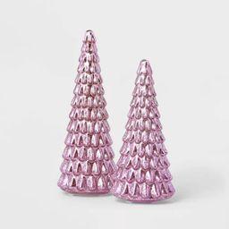 Lit Large Mercury Christmas Tree Decorative Figurine - Wondershop™   Target