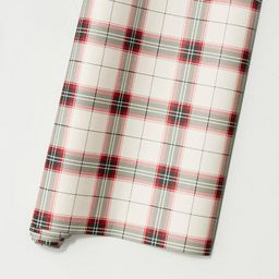 Holiday Plaid Premium Gift Wrap Red/Green - Hearth & Hand™ with Magnolia | Target