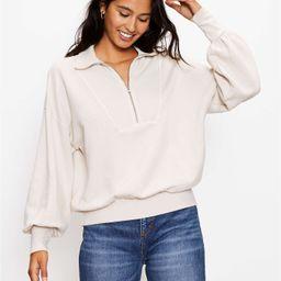 Zip Sweatshirt   LOFT