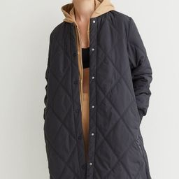 Quilted Outdoor Coat   H&M (US)