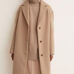 Straight-cut Coat   H&M (US)