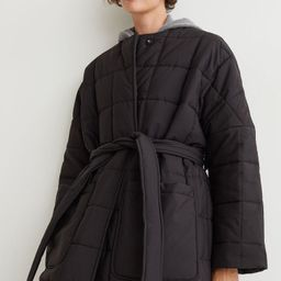 Quilted Coat   H&M (US)
