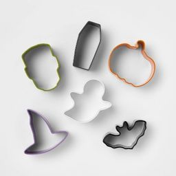 6pc Stainless Steel Mini Cookie Cutter Set - Hyde & EEK! Boutique™ | Target