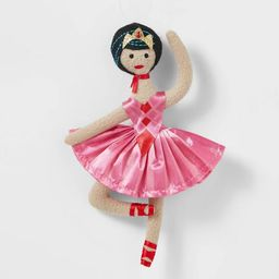 Ballerina with Pink Skirt and Red Shoes Christmas Tree Ornament - Wondershop™   Target
