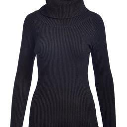 jon & anna Women's Pullover Sweaters BLACK - Black Turtleneck - Women | Zulily