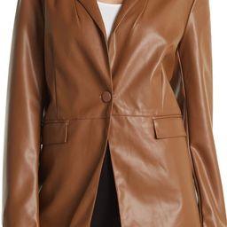 Faux Leather Blazer | Nordstromrack | Nordstrom Rack