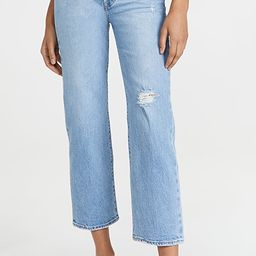 Ribcage Straight Ankle Jeans   Shopbop
