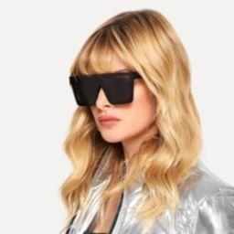 Flat Top Sunglasses   SHEIN