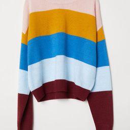 H & M - Knit Sweater - Pink   H&M (US)