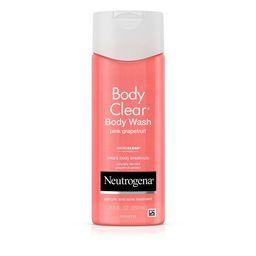 Neutrogena Body Clear Pink Grapefruit Acne Body Wash - 8.5 fl oz   Target