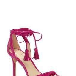Women's Vince Camuto Stellima Tassel Sandal, Size 5 M - Pink | Nordstrom