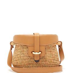 Khokho - Jabu Leather Trimmed Mini Basket Bag - Womens - Light Tan   Matchesfashion (Global)