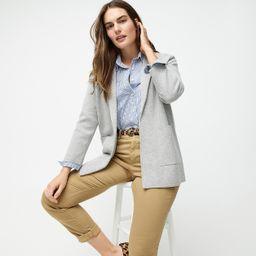 New lightweight sweater-blazer   J.Crew US
