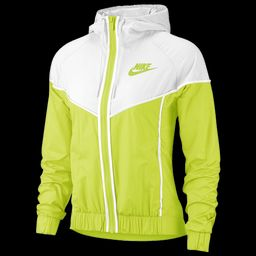 Nike Windrunner Jacket - Cyber / White, Size One Size | eastbay.com
