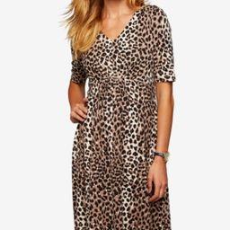 A Pea In The Pod Maternity Leopard-Print Dress   Macys (US)