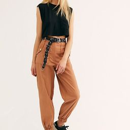 Tan Utility Pants by Free People   Free People (US)