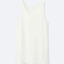 UNIQLO Men's Airism Mesh Tank Top, White, XS | UNIQLO (US)