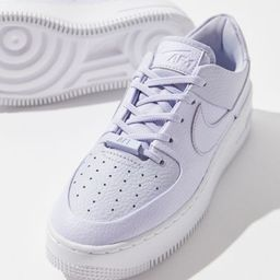 Nike Air Force 1 Sage Low Women's Sneaker - Purple 10 at Urban Outfitters | Urban Outfitters (US and RoW)